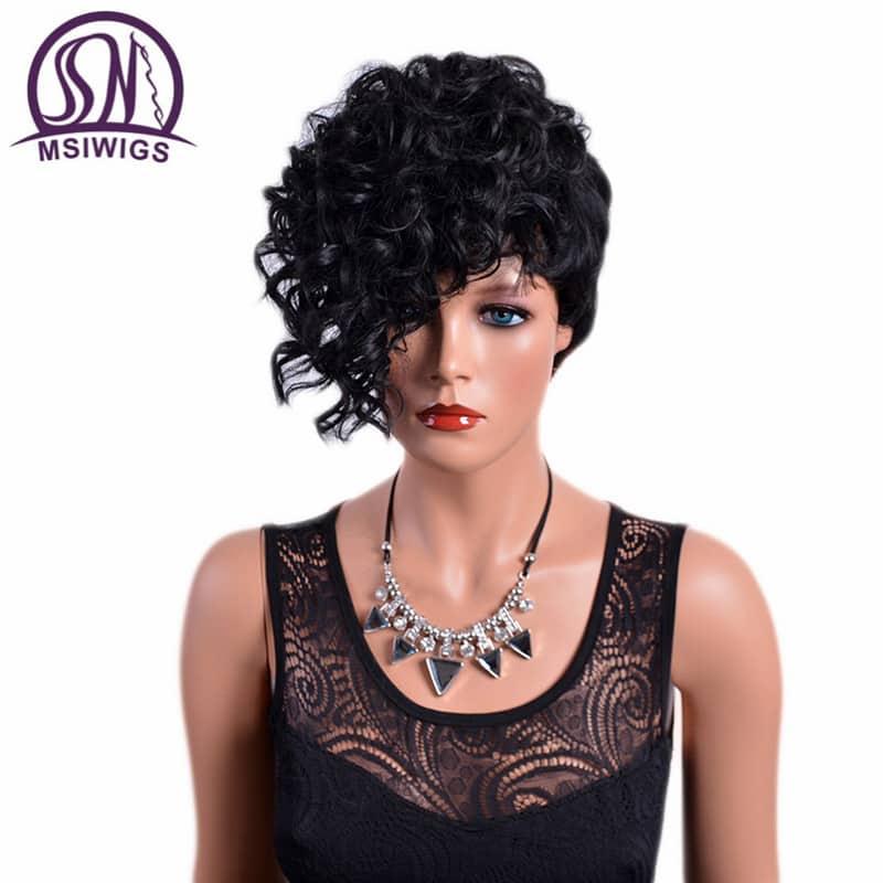 Black Hair Wigs For Women 5
