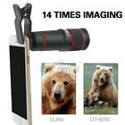 US 2019 Universal 14X Optical Zoom HD Telescope Camera Lens+Clip Fr Mobile Phone