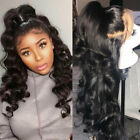 100% Virgin Brazilian Human Hair 360 Lace Front Wigs Full Lace Wig Loose Wave ud