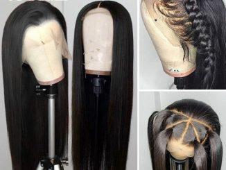 Black Hair Wigs Human Hair 24