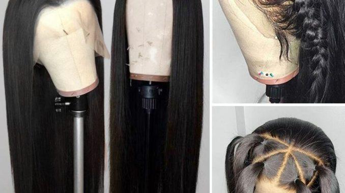 Black Hair Wigs Human Hair 9