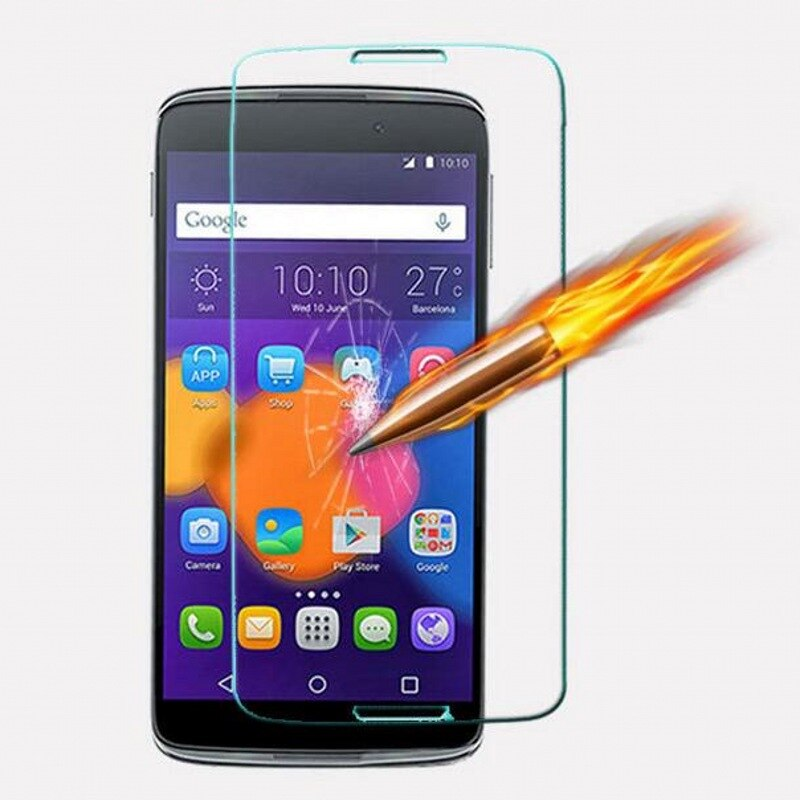 """2016 Tempered Glass For Alcatel One Touch Pop C3 C7 idol 3 4.7"""" 5.5"""" Pixi3 Pixi4 3.5"""" 4.0 4.5"""" 5.0"""" Screen Guard Case"""