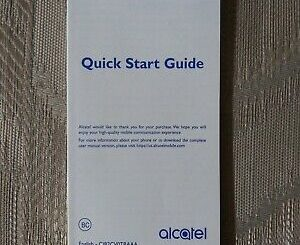 Alcatel Mobile Phone Manual 20