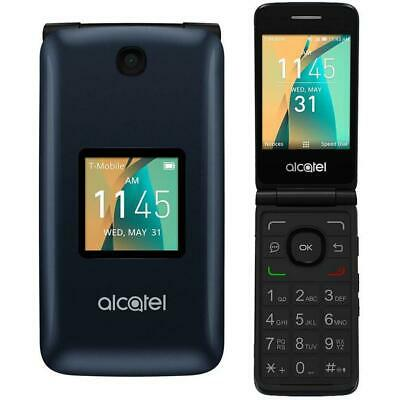 Alcatel 4044o Go Flip 2 - Gray (Factory GSM Unlocked AT&T / T-Mobile) Flip Phone
