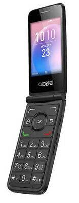 Alcatel GO Flip 4044V 4GB 4G LTE WiFi GSM Unlocked Flip Phone Black - Grade A
