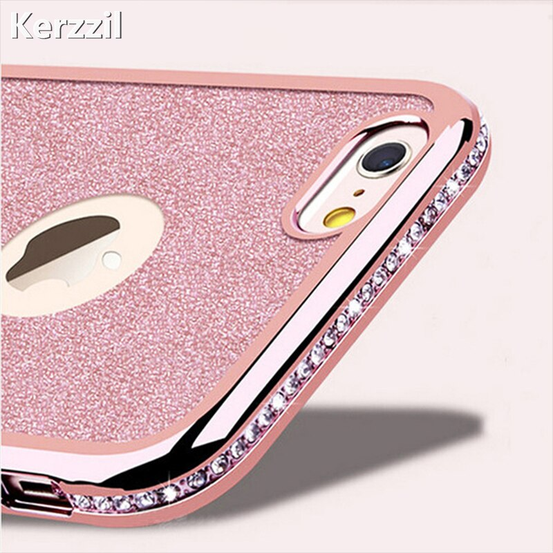 Diamond Case For iPhone X XR XS Max 7 8 6 6s Case For Samsung Galaxy S10 lite S9 S8 Plus A30 A50 A70 M10 M20 M30 A5 2017 A7 2018