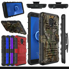 For Alcatel TCL LX A502DL Phone Case Hybrid Holster Stand Hard Shockproof Cover