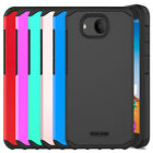 For Alcatel Tetra Case Hybrid Dual Layer Armor Shockproof Hard Phone Case Cover