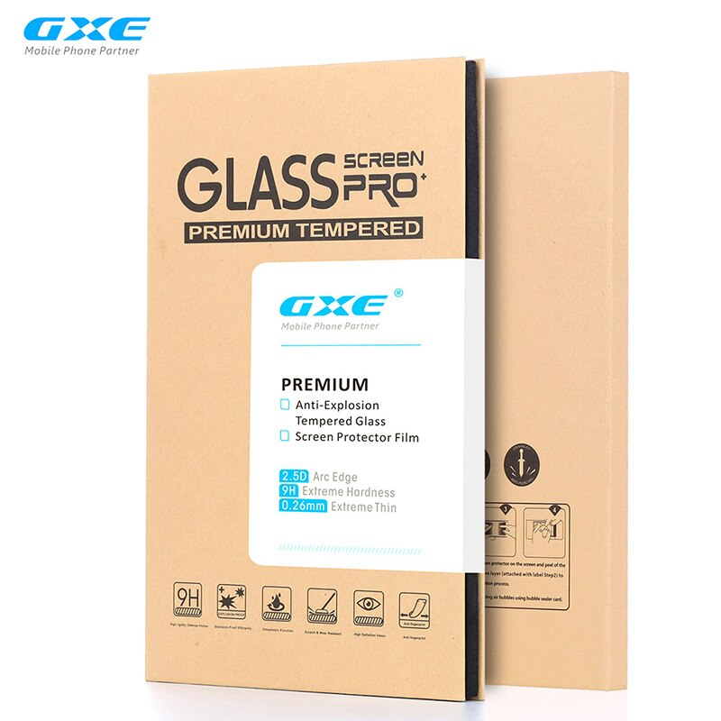 GXE Premium Tempered Glass Film For Alcatel Pixi 4 (3.5) (4) (5) (6) Idol 4 4s Pop 4 4s 4+ 3 4.7 5.5 LCD Screen Protector Guard