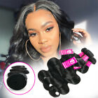 US Wholesale 3Bundles Brazilian Indian Virgin Human Hair Weave Body Wave THICK