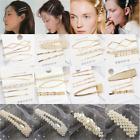 5PCS Fashion Pearl Hair Clip Hairband Comb Bobby Pin Barrette Hairpin Headdress