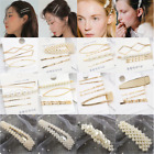 5PCS Fashion Pearl Hair Clip Hairband Comb Bobby Pin Barrette Hairpin Headdress