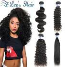 Brazilian Hair Body Wave/Straight/Deep/Curly Human Weave Extensions100g/1 Bundle