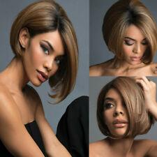 Brazilian Virgin Charming Wig Hair Full Short Bob Wigs For Fashion Black Women