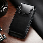 Business Cell Phone Belt Clip Loop Pouch Holder Vertical Case Executive Black