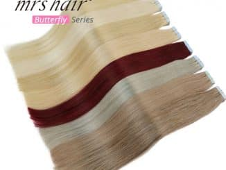human hair extension 10