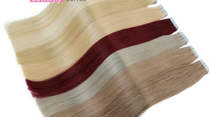 human hair extension 4