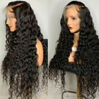 Pre Plucked Deep Curly Wave Full Lace Front Wigs Brazilian Remy Human Hair Wig Z
