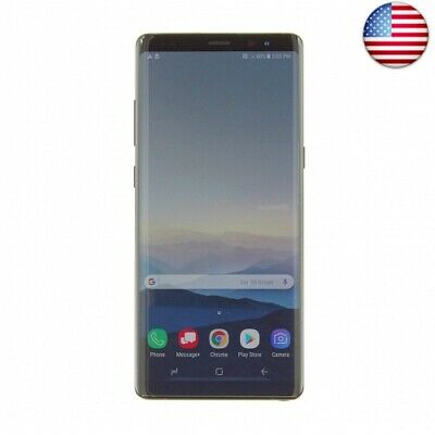 Samsung Galaxy Note 8 N950 Factory Unlocked Phone 64GB Midnight (Midnight Black)