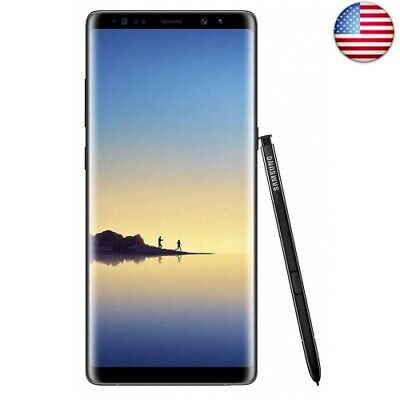 Samsung Galaxy Note 8 N950U 64GB Unlocked GSM 4G LTE Android (Midnight Black)