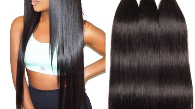 human hair extensions bundles 4