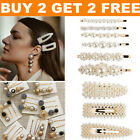 USA Fashion Pearl Hair Clip Hairband Comb Bobby Pin Barrette Hairpin Headdress