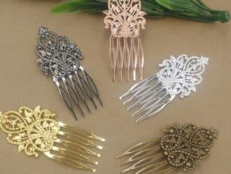 Hairpin Barrette Comb 21