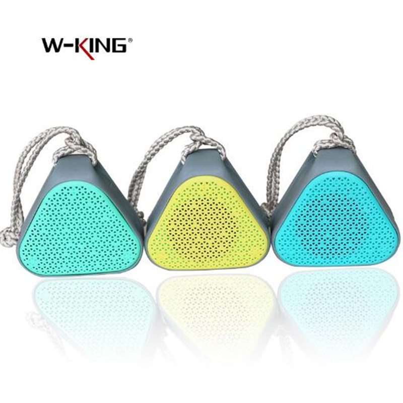 W-King Portable Mini Bluetooth Speaker Wireless Stereo Music Speaker Outdoor Waterproof Radio Support TF Card Mobile Phone