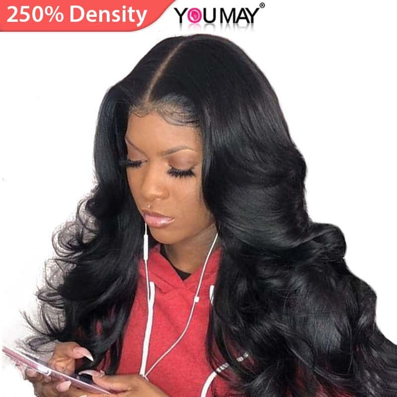 Brazilian Hair Wigs With Lace Front 1