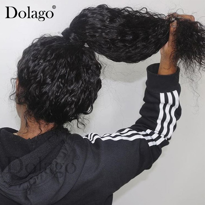 360 Lace Frontal Wig With Baby Hair 250 Density Deep Wave Curly Bob 13x6 Lace Front Human Hair Wigs 370 Fake Scalp Wig Dolago