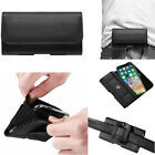 Belt Clip Holster Pouch Card Wallet Waist Bag PU Leather Cell Phone Case Cover