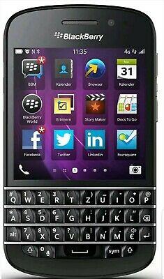 BlackBerry Q10 4G LTE GSM Unlocked (ATT / T-Mobile) Black SQN100-1 Condition B+