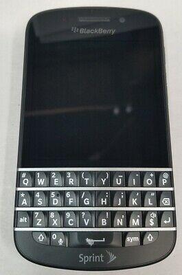 Blackberry Q10 (SPRINT ONLY!) QWERTY 4G LTE Cellular Phone Black BB OS V10.2