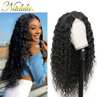 Brazilian Human Hair Wig Water Wave Pre Plucked Lace Front Wigs With Baby Hair