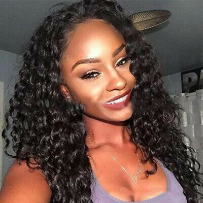 Brazilian Water Wave Lace Front Wigs Front Lace Wigs Women Hair Pre Plucked Wig