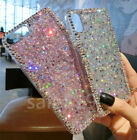 Fashion Bling Diamond Crystal shining Clear TPU Soft Case Cover For Cell Phones