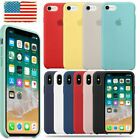 For Apple iPhone XS Max XR X 8 7 6plus Genuine Original Soft Silicone Case Cover