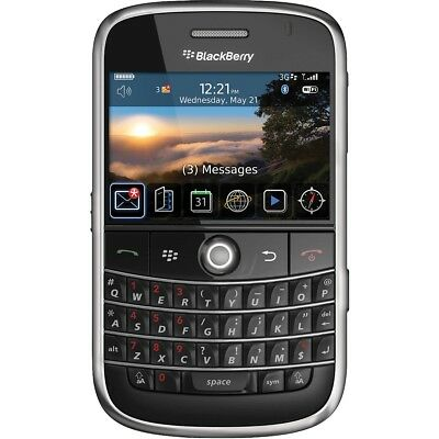 New Blackberry Bold 9000 (AT&T) GSM QWERTY Cellular Phone Black