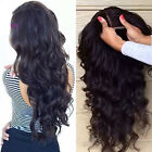 Pre Plucked Closure Lace Frontal Wigs Brazilian Virgin Human Hair Full Lace Wig