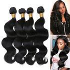 1/3/4 Bundles Brazilian Virgin Hair Body Wave THICK Remy Human Hair Weave Wefts