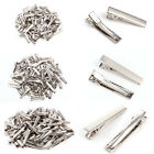 200x Alligator Hair Clips Silver Metal Crocodile For Bows Barrette 30/40/45mm