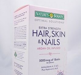 Hair Skin And Nails Vitamins 12
