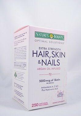 Hair Skin And Nails Vitamins 6