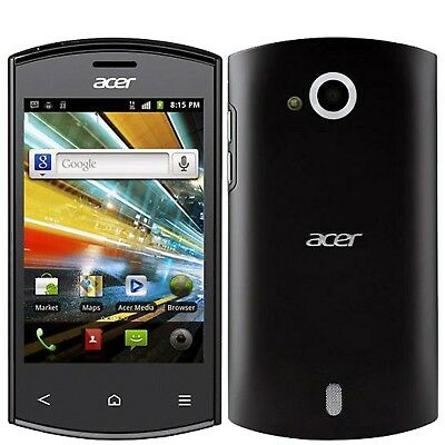 BNIB Acer Liquid Express E320 Black 512MB Factory Unlocked Single-SIM 3G 2G GSM