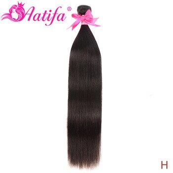 Brazilian Straight Hair Bundles 1/3/4 Pcs Human Hair Bundles Remy Hair Extension Natural Color 8-28 Inch Hair Weave Aatifa