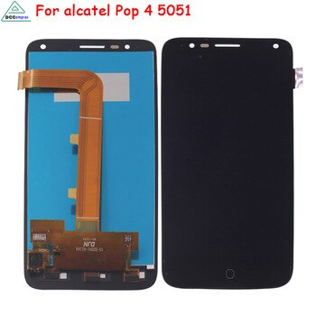 Mobile Phone LCDs For Alcatel Pop 4 LCD Screen Display Phone Parts For Alcatel One Touch Pop 4 5051D 5051X 5051M 5051J
