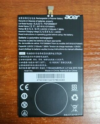 Original Genuine BAT-B10 2100mAh Battery For Acer Liquid Jade S55 Phone Warranty