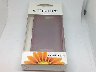 TELUS Phone Skin for Alcatel Pop Purple Read Description