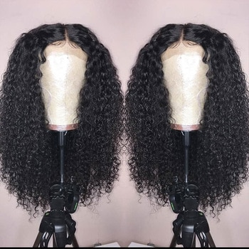 250 Density Lace Front Wigs For Women Curly Lace Front Human Hair Wigs Fake Scalp Wig Ever Beauty Remy