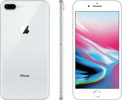 Apple iPhone 8 Plus - 64GB - Silver - Factory GSM AT&T / T-Mobile Unlocked Phone